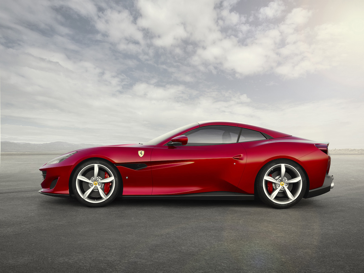 ferrari portofino new car convertible 8-cylinder most powerful hard top luxury