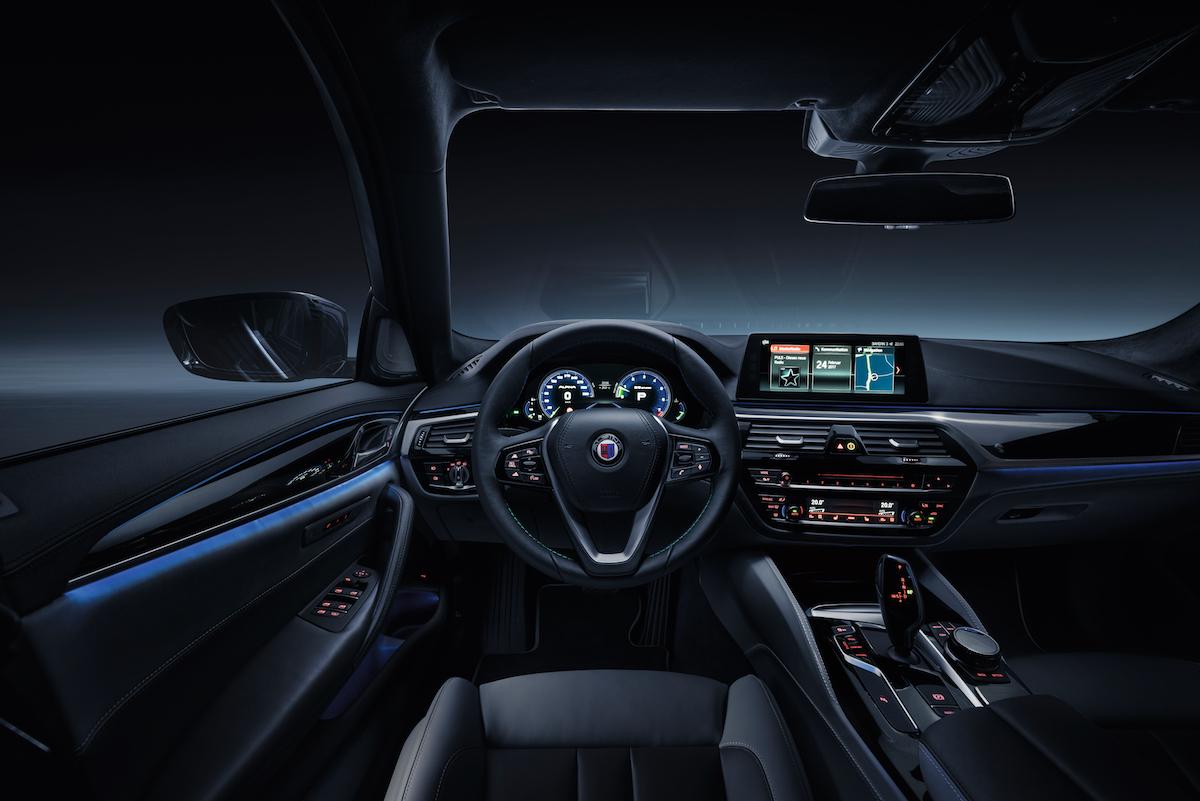 bmw alpina-b5-biturbo modelle 2017 achtzylinder modell limousine ausstattung allradantrieb hersteller innenraum