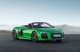 audi r8 v10 plus convertible models sports car soft-top fastest engine performance all-wheel-drive carbon