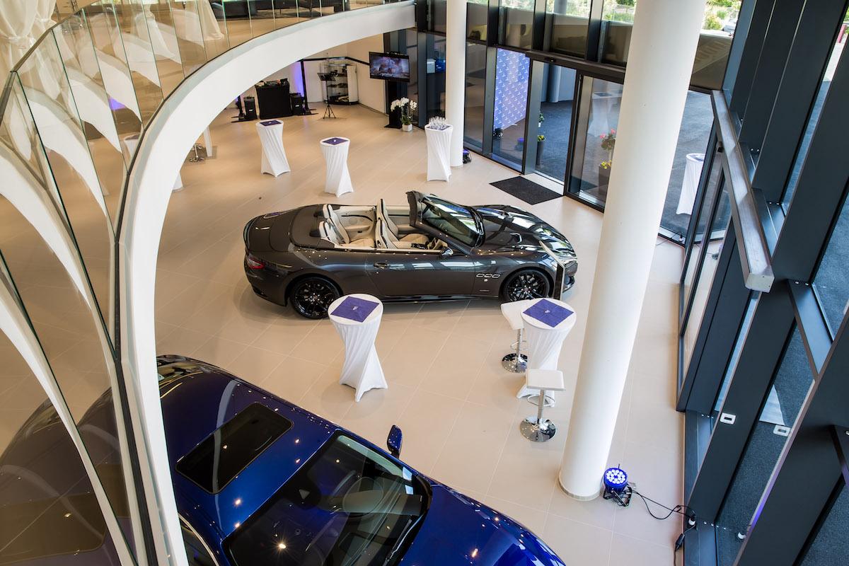 maserati vertretung maserati-vertretung schweiz luzern showroom premium luxus modelle sportwagen levante suv