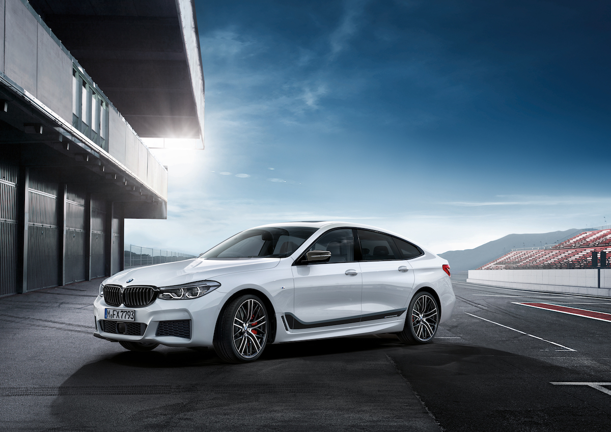 bmw 6 series gran turismo m performance parts suspension exhaust sound petrol engine models fuel consumption co2 emissions alloy wheels braking system