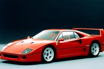 ferrari f40 cars enzo-ferrari museum company 308 gtb 288 gto engines supercharged test driver performance