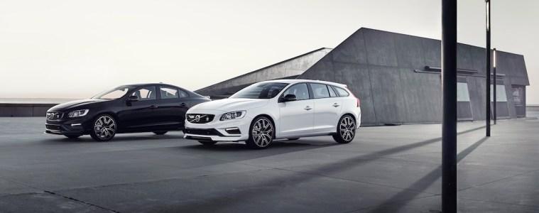 volvo s60 v60 polestar modelle limitiert preise aerodynamik-paket karbon limousine kombi
