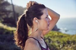 kopfhörer kabellos wireless fitness sport walking smartphone robust wasserabweisend