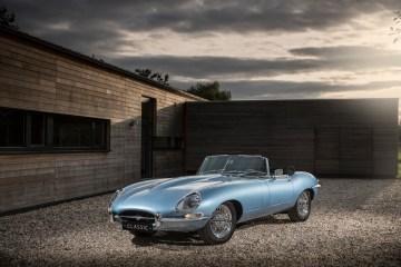 jaguar e-type elektroantrieb reichweite fahrleistungen classic roadster