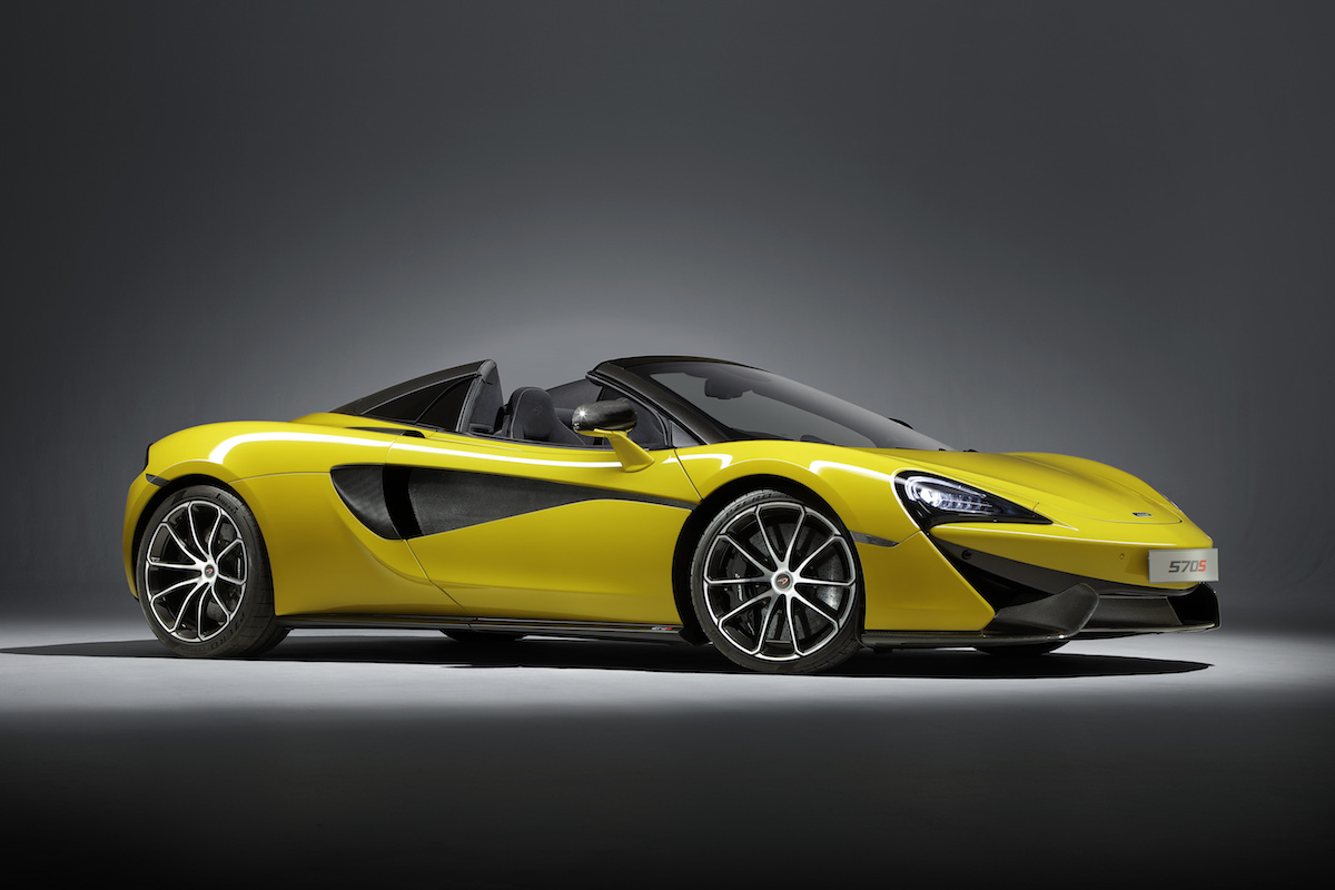 mclaren 570s spider coupe supercar sportscars cars models convertible convertibles hardtop driving acceleration