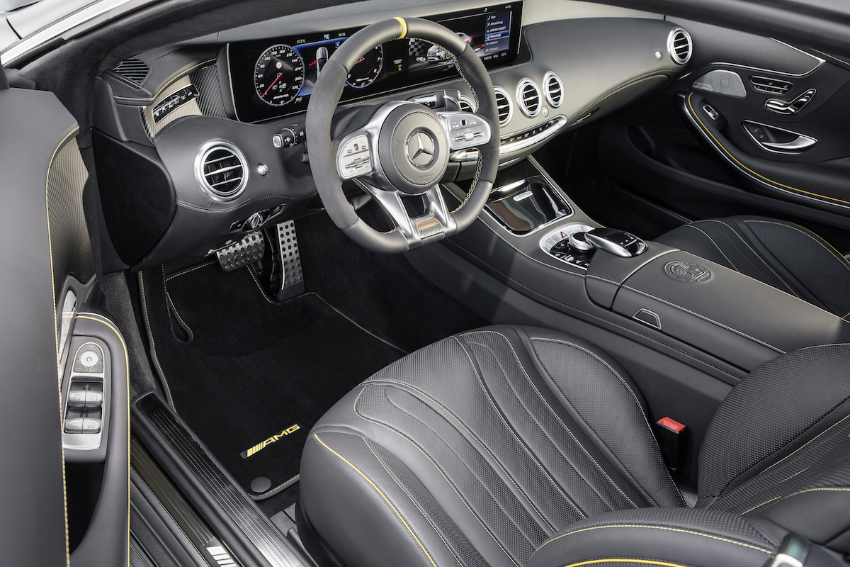 mercedes-amg s-63 s-65 coupe cabriolet new models s-class interior