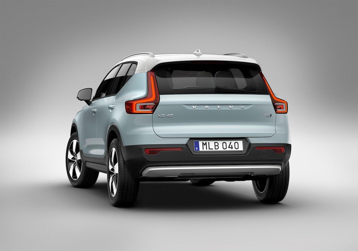 volvo xc40 kompakt suv sports utility vehicle modelle benzinmotor dieselmotor elektrisch hybrid