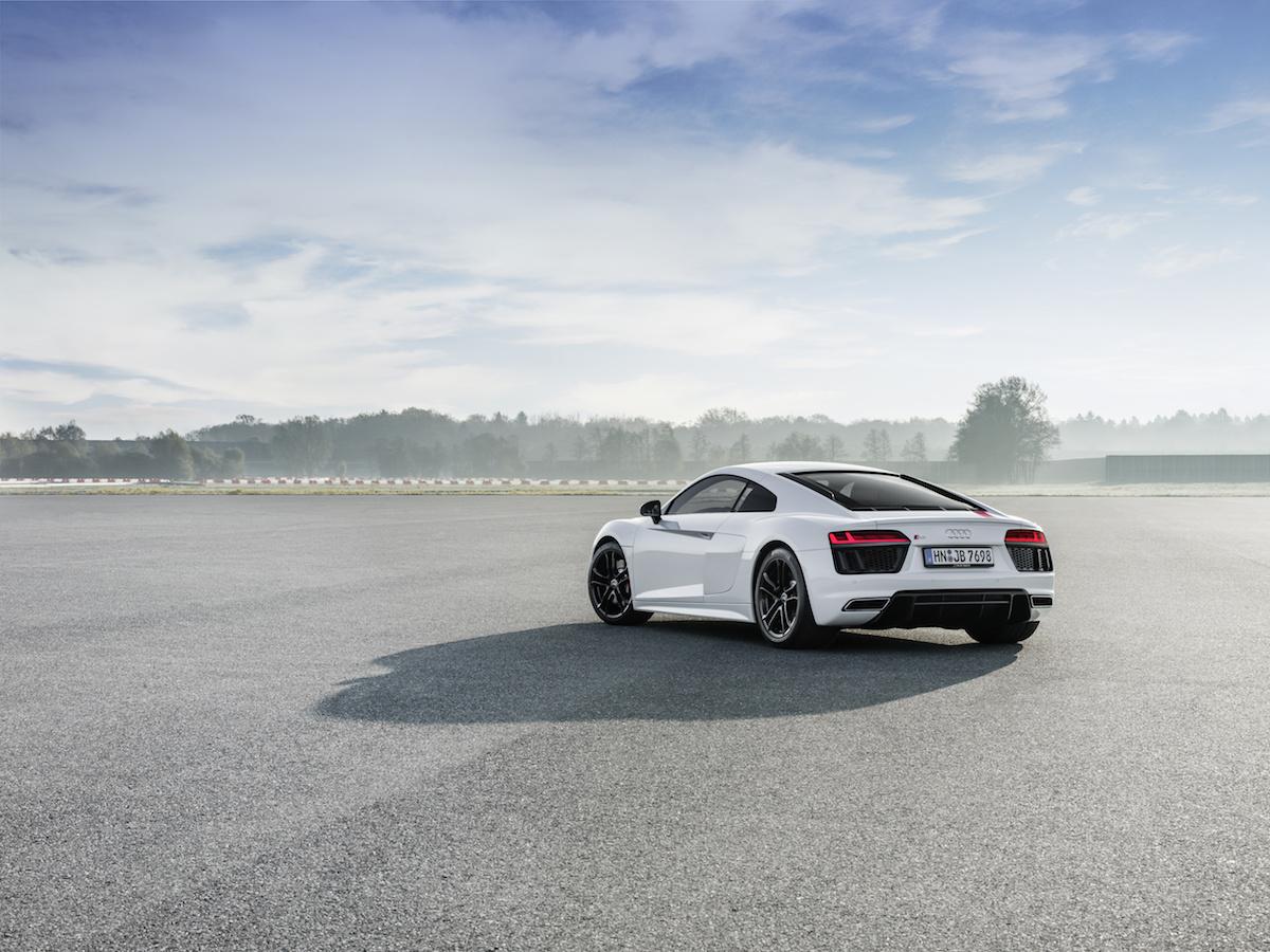 audi r8 v10 rws coupe spyder limitiert limitierte sonderserie modelle modellvarianten v10-mittelmotor deutschland am limit
