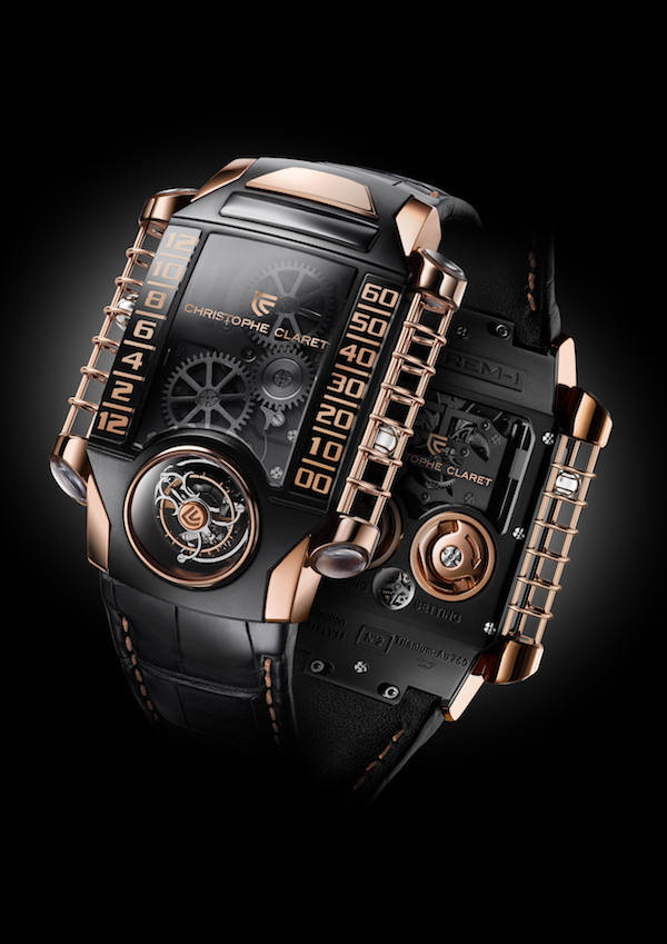 christophe claret watch new watches tourbillon timepieces versions stainless steel red gold