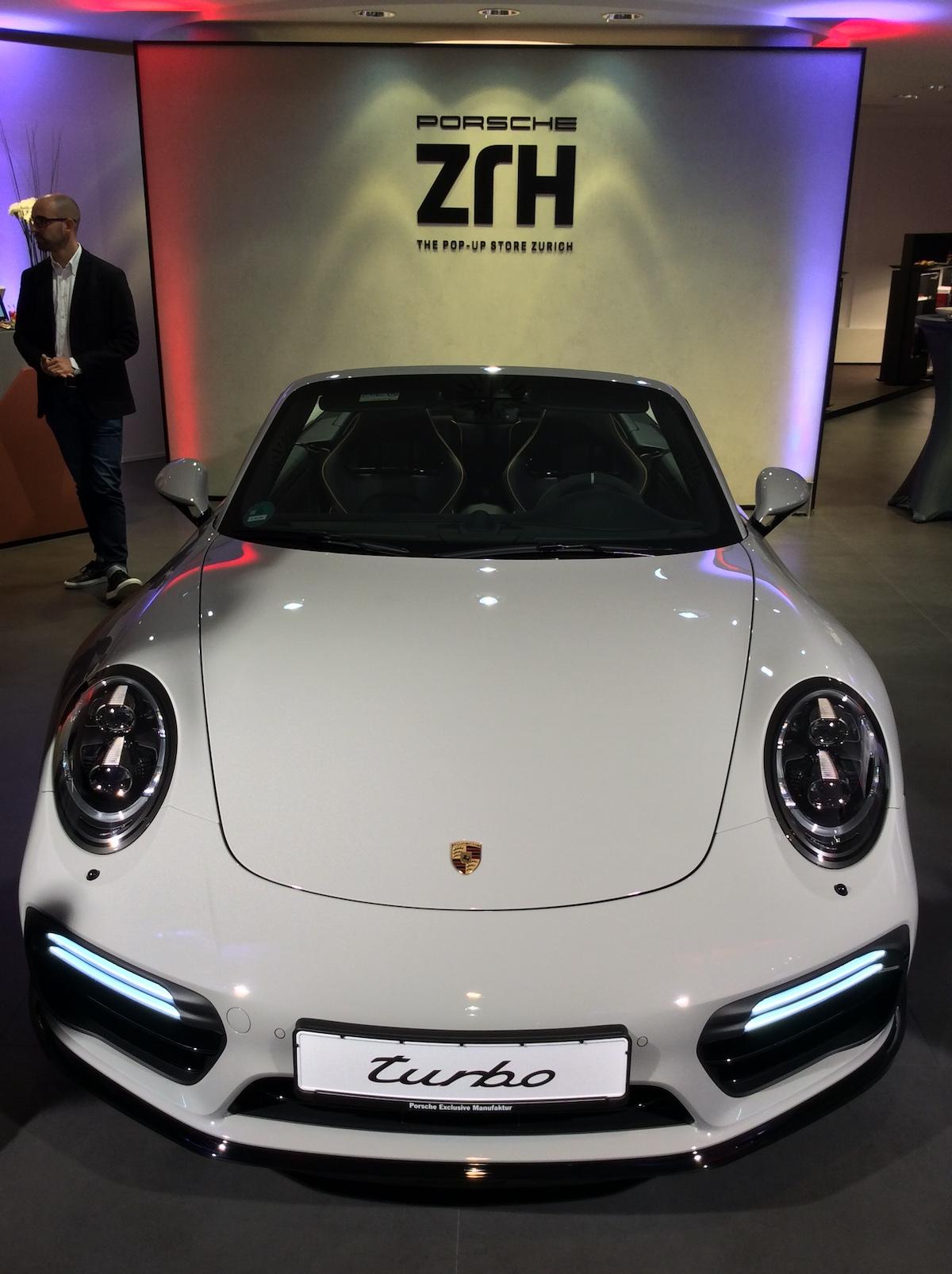 porsche exclusive manufaktur sportwagen limitiert veredelt modelle sportlimousinen individualisiert store shop luxus zürich paradeplatz porsche-911-turbo-s