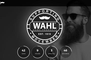 Movember, Wahl