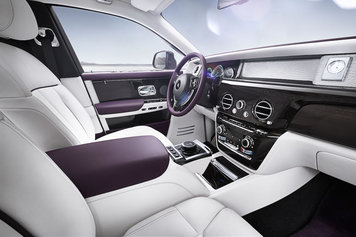 rolls-royce phantom modelle exterieur karosserie materialien design interieur innenraum innenausstattung