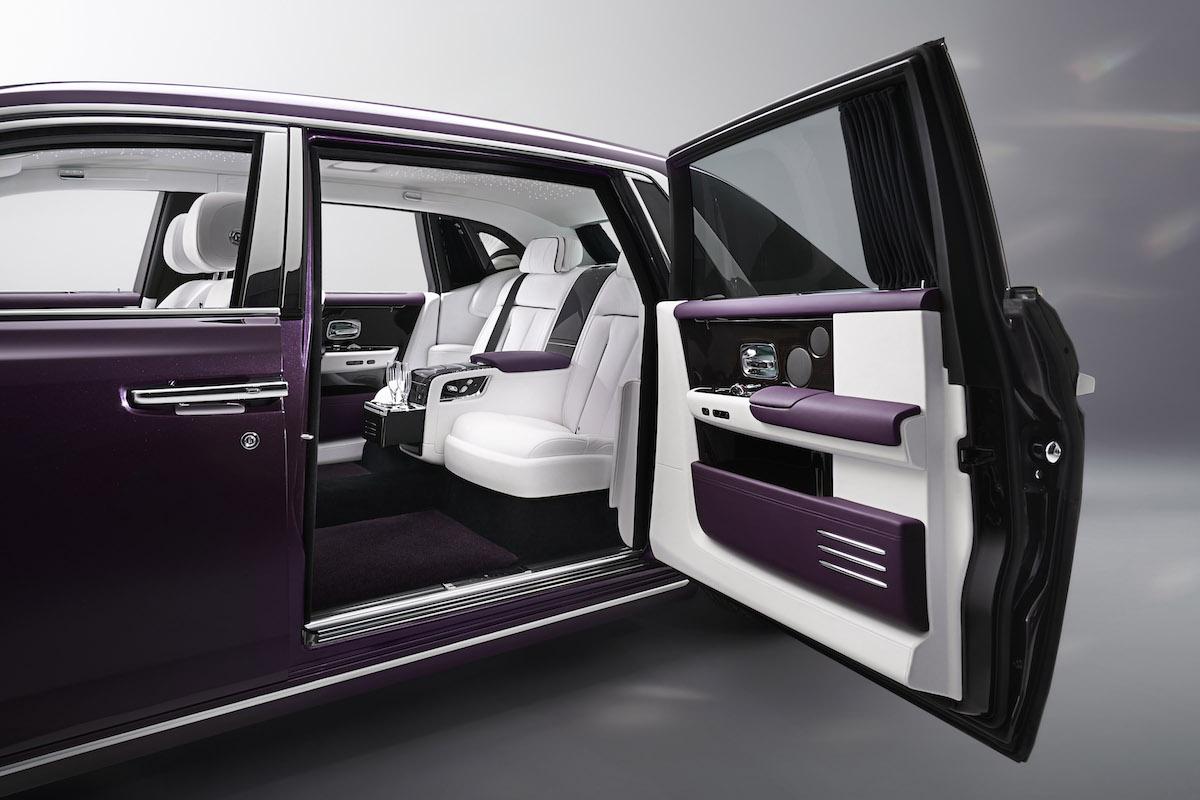 rolls-royce phantom models bespoke limited interior exterior new-phantom materials dashboard instrument panel history design