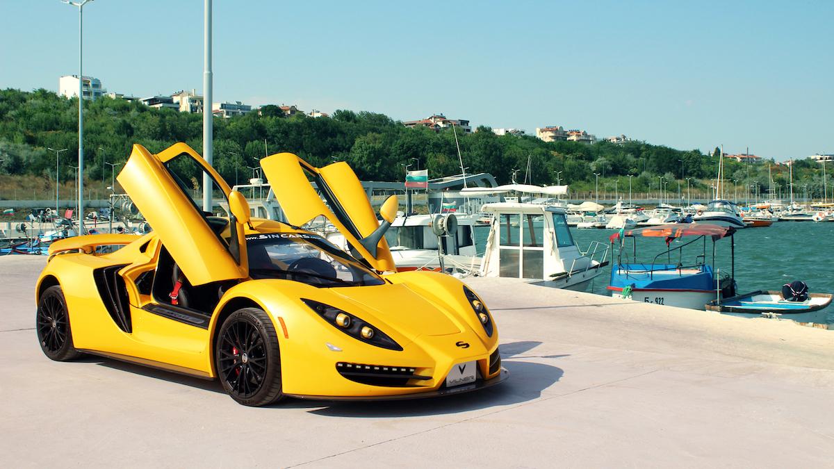 sin-cars sin-r1 super sports car models exotic cars manufacturers carbon vilner