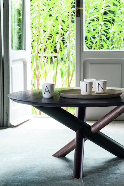 table bross wood metal shapes glass materials