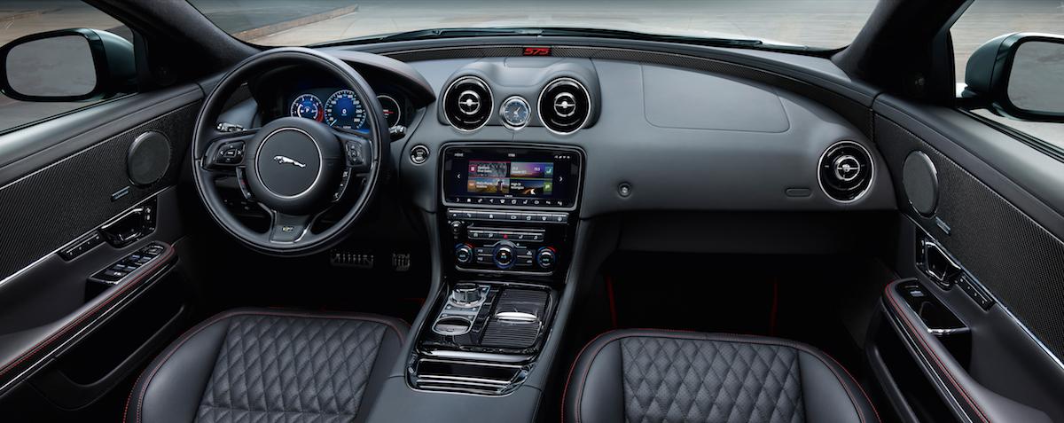 new jaguar xjr575 model models luxurious unique tailor-made bespoke year 2018 interior