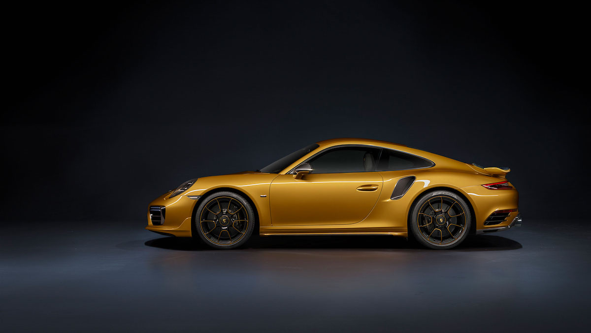 porsche 911 turbo s model models limited special sports car exclusive