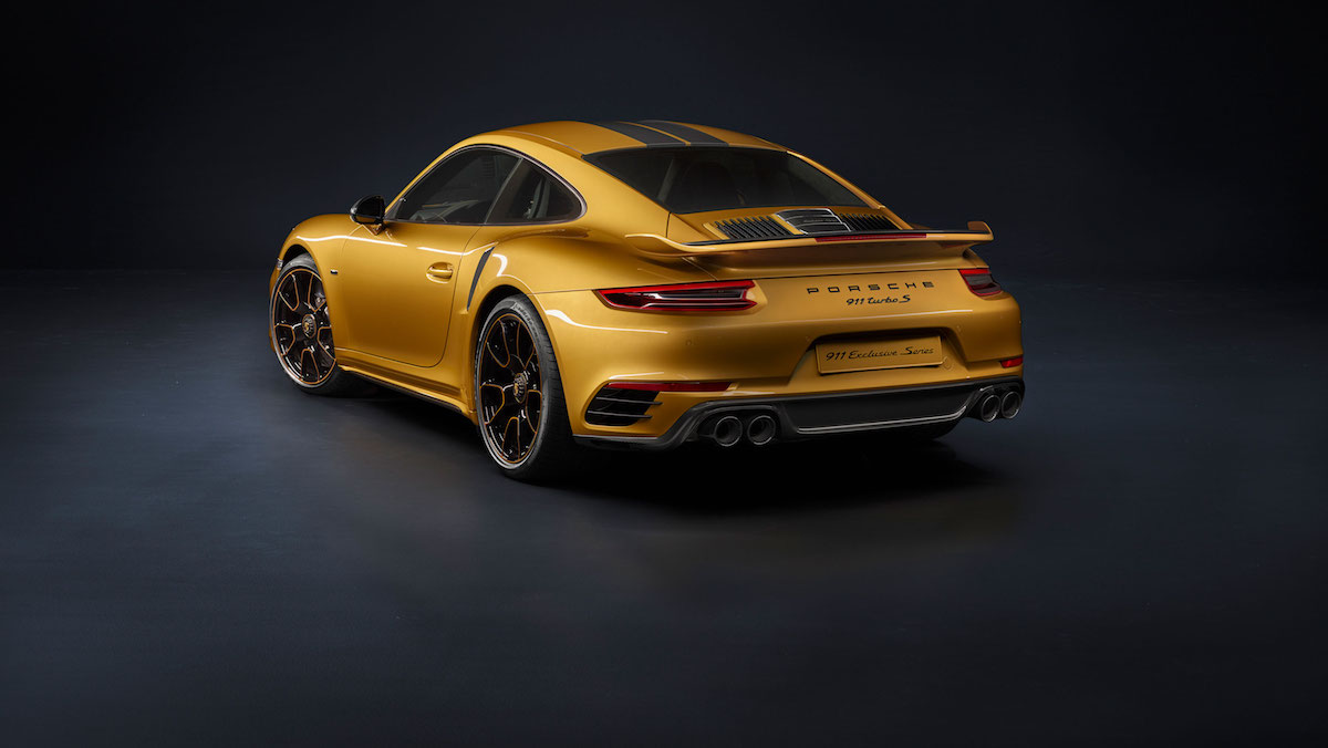 porsche 911 turbo s model models limited special sports car limited-edition