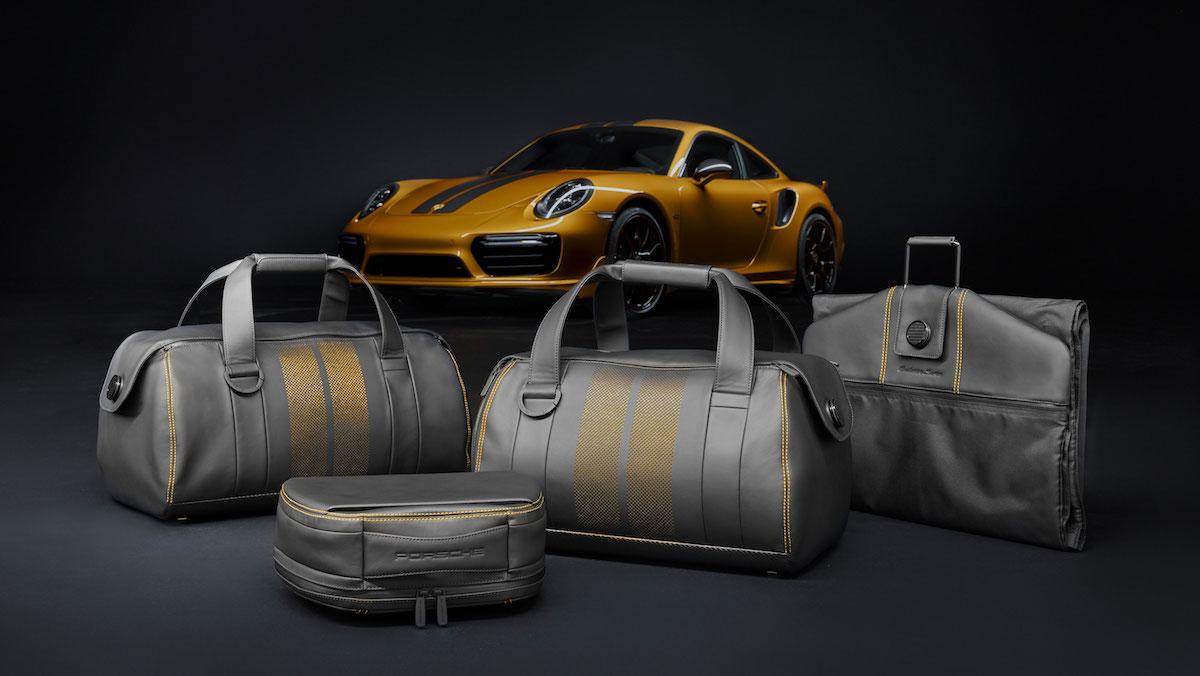 porsche 911 turbo s exclusive series porsche-911 limitiert reisegepäck