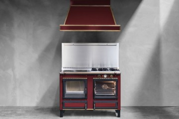 wood-burning cookers ovens versatile gas electric interior design furnishing modern classic