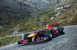 formel1 formel-1 formel 1 rennauto rennwagen gotthard gotthardpass schweiz video red bull racing sebastien buemi
