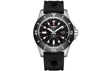 breitling luxury watches men gentlemen diving blue black superocean 44