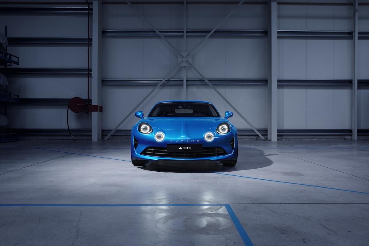 renault alpine a110 neuheit neu neues modell modele neue sportwagen design