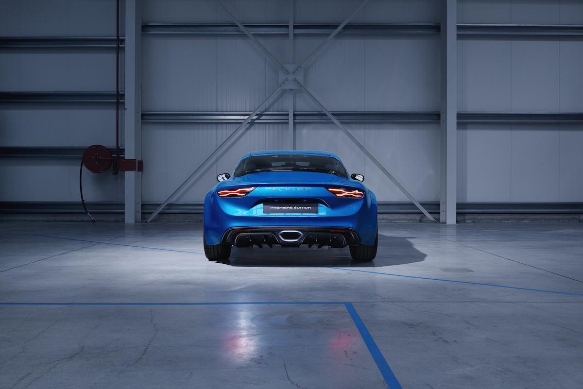 renault alpine a110 neuheit neu neues modell modele neue sportwagen verkauf heckansicht
