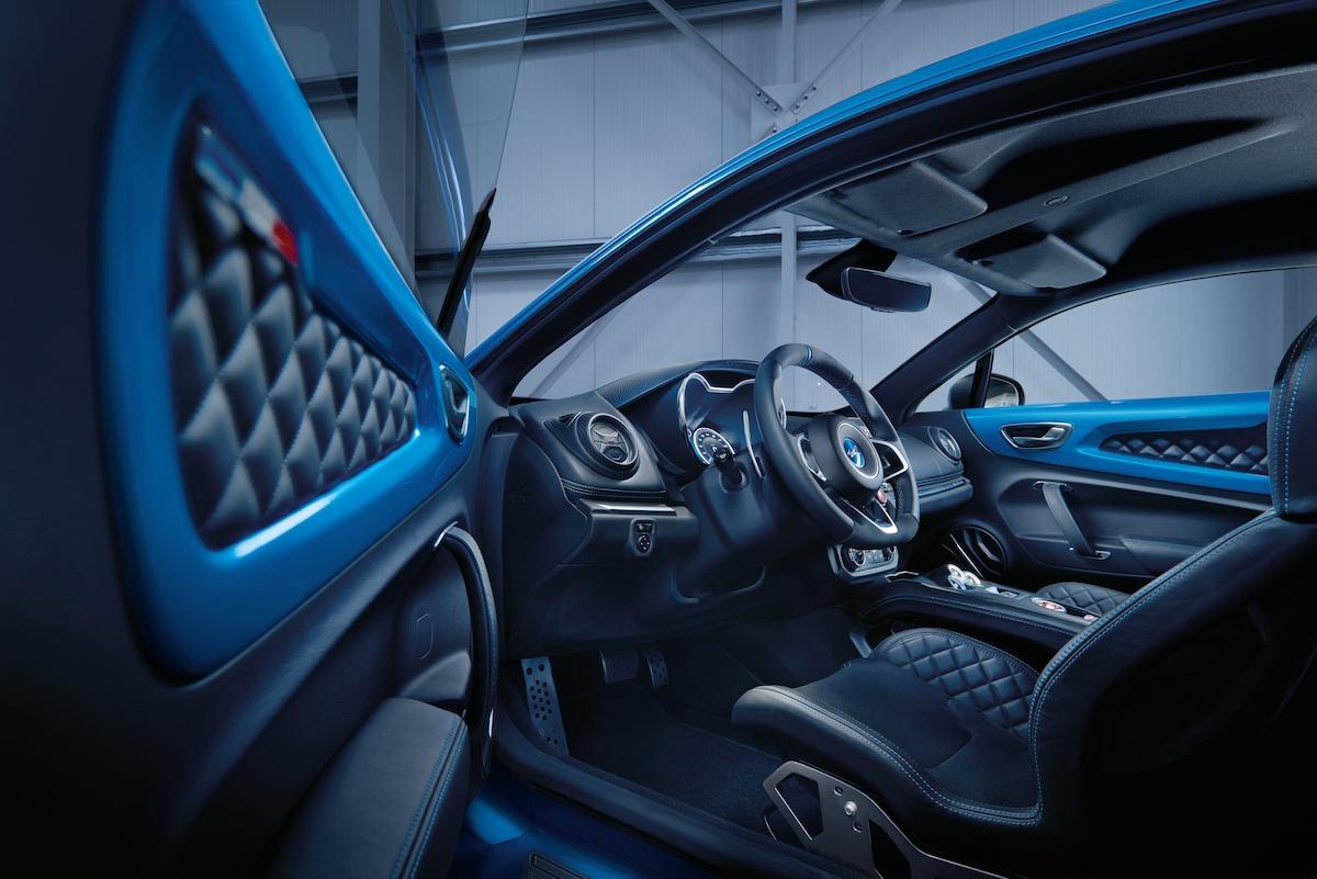 renault alpine a110 neuheit neu neues modell modele neue sportwagen innenraum