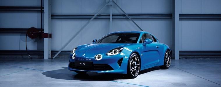 renault alpine a110 neuheit neu neues modell modele neue sportwagen chassis