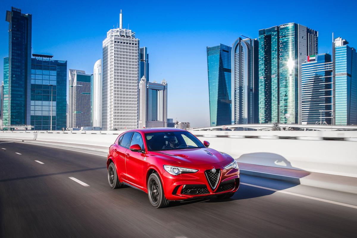 alfa romeo stelvio quadrifoglio suv sport utility vehicle geländewagen allradantrieb modelle neuheiten neu premium luxus schweiz