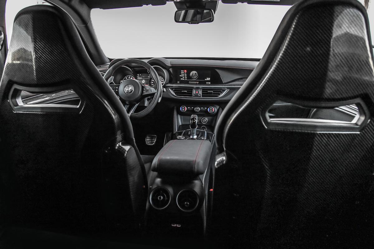 alfa romeo stelvio quadrifoglio suv sport utility vehicle geländewagen allradantrieb modelle neuheiten neu premium luxus innenansicht interieur