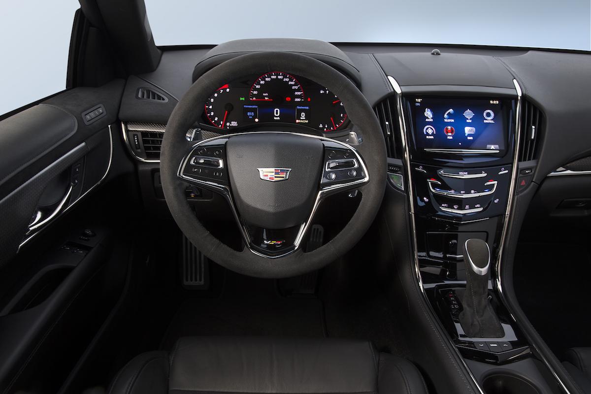 cadillac ats-v ats v-modelle v-serien luxuslimousinen luxus-limousinen limousinen luxus premium sportwagen fahrzeuge innenraum