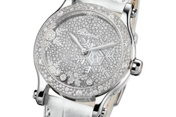 chopard watches watchmodels timepieces women woman lady ladies luxury luxurious collection diamonds alligator leather strap