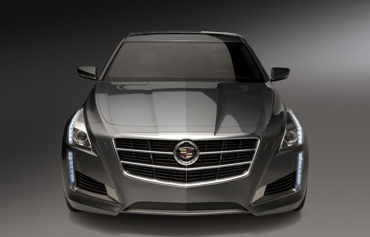 cadillac cts sedan models premium luxury