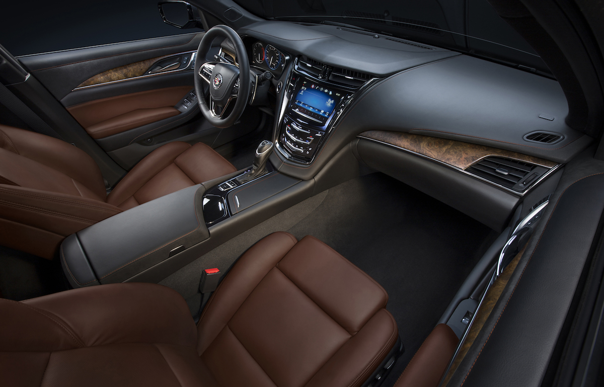 cadillac cts luxuslimousinen premiumsegment mittelklasse mittelklasse-limousinen hersteller usa automarken luxus-limousine limousine interieur innenraum