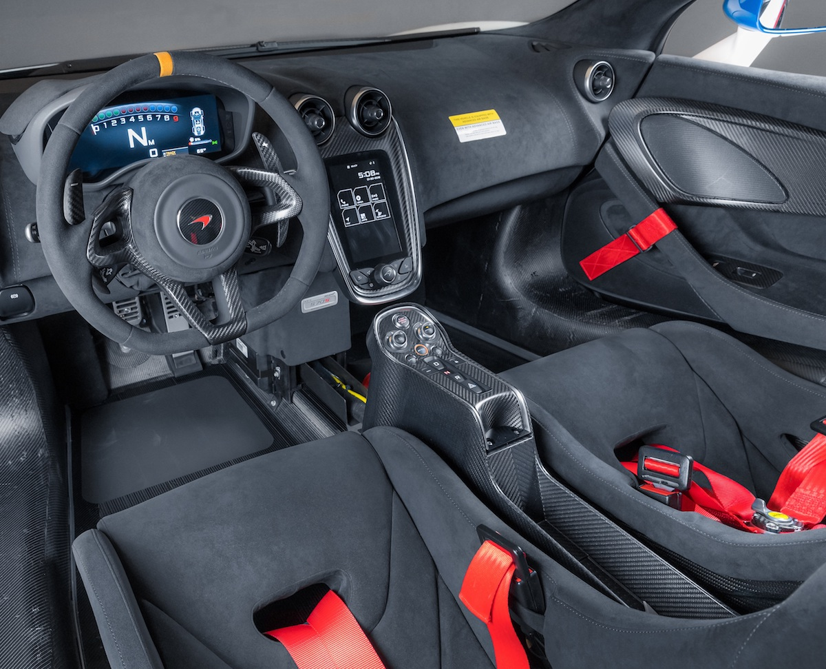 mclaren 570s mso high performance road cars sports-cars new models cockpit interior