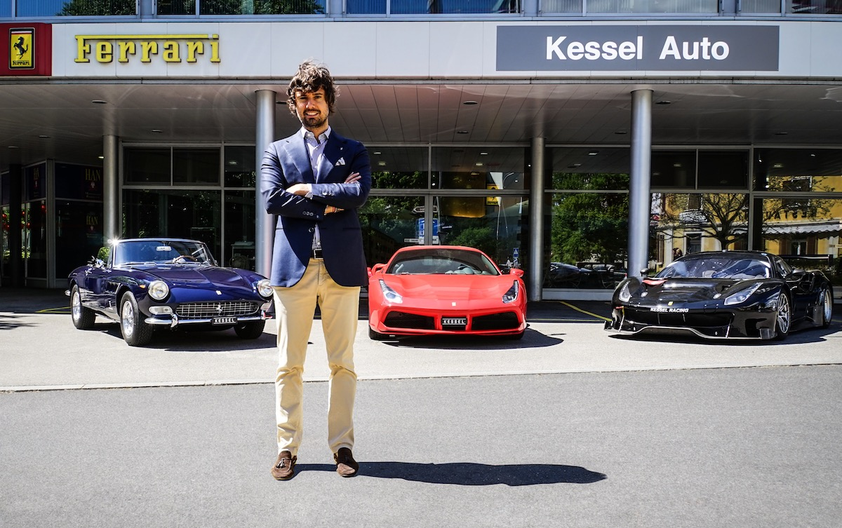 Kessel Auto in Zug zur Ferrari Niederlassung in der Schweiz erkoren ...