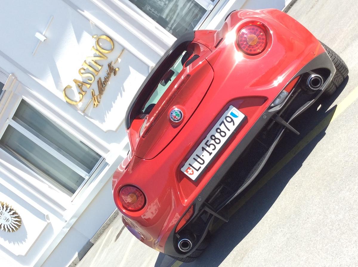 alfa romeo 4c spider testbericht fahrbericht schweiz sportwagen modelle motoren ausstattung cabrio cabriolet online magazin automobil automobil lifestyle oberengadin st.moritz