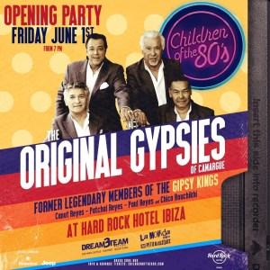 Original Gypsies als Headliner