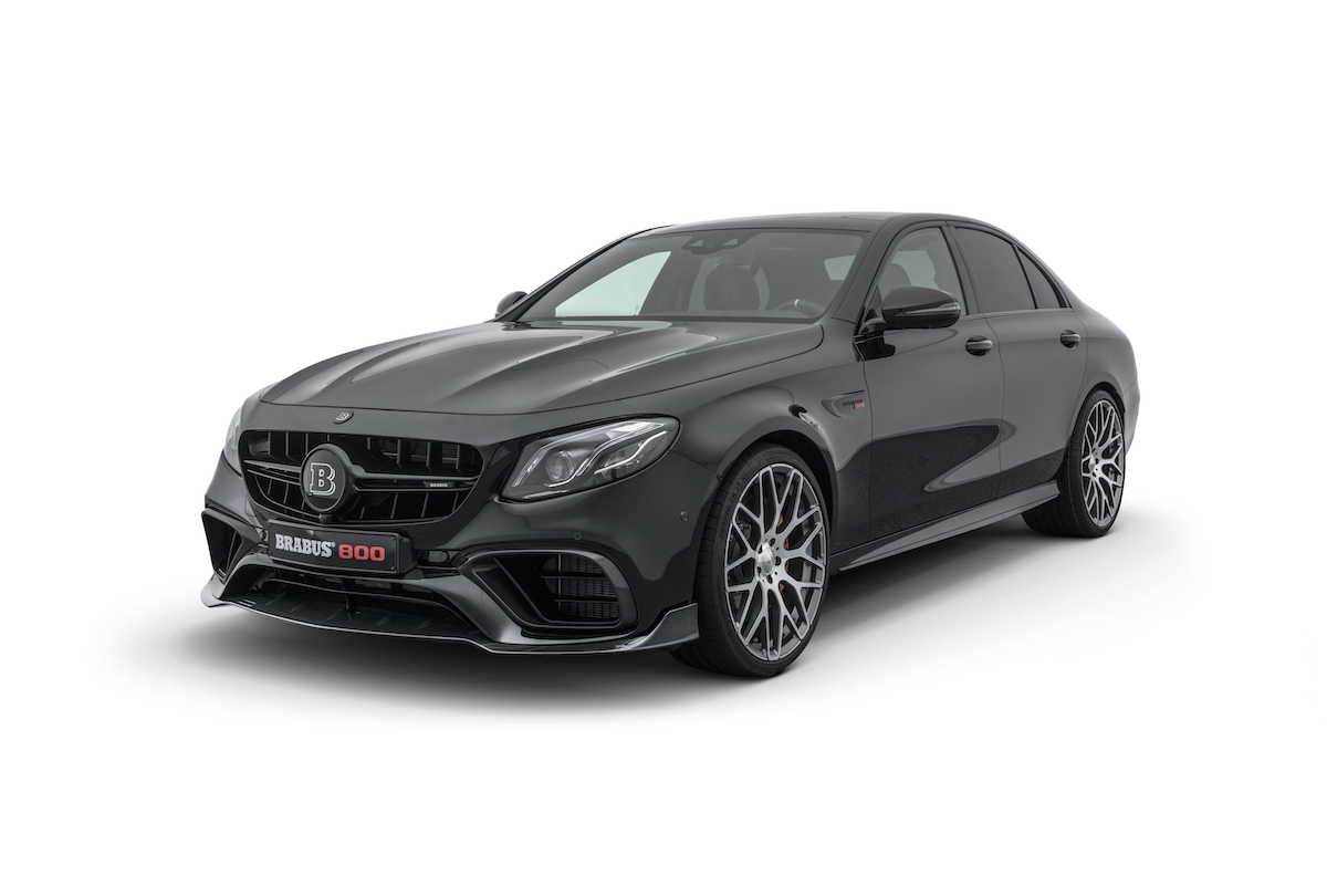 brabus 800 mercedes benz e 63 s 4matic+ performance limited enhancement aerodynamic kit