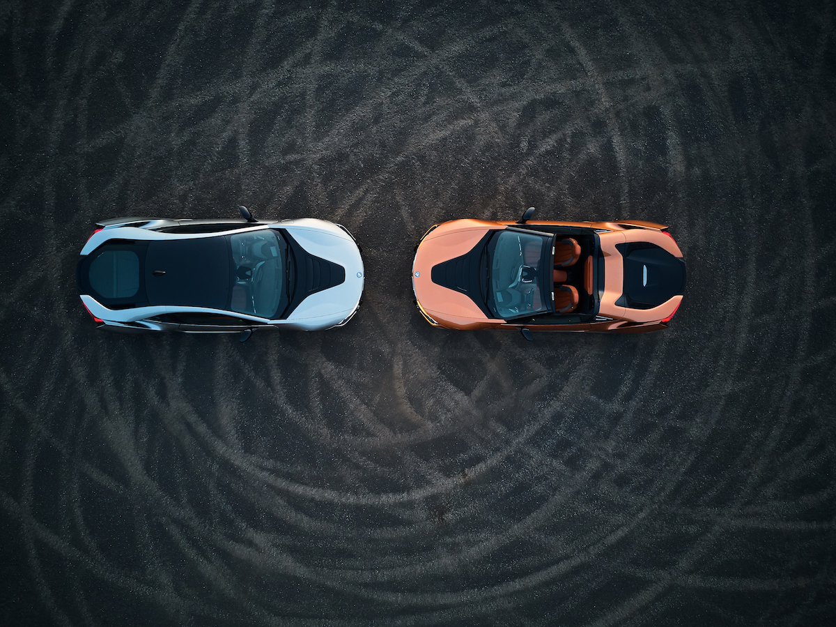 bmw i8 roadster coupe sportwagen modelle motoren leistung modelle elektro hybrid allradantrieb