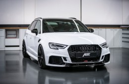 audi abt rs3 sportback limousine tuning upgrade performance improvement custom made