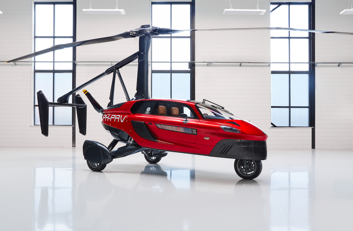 pal-v liberty flying car airshow united kingdom 2018 manufacturers company
