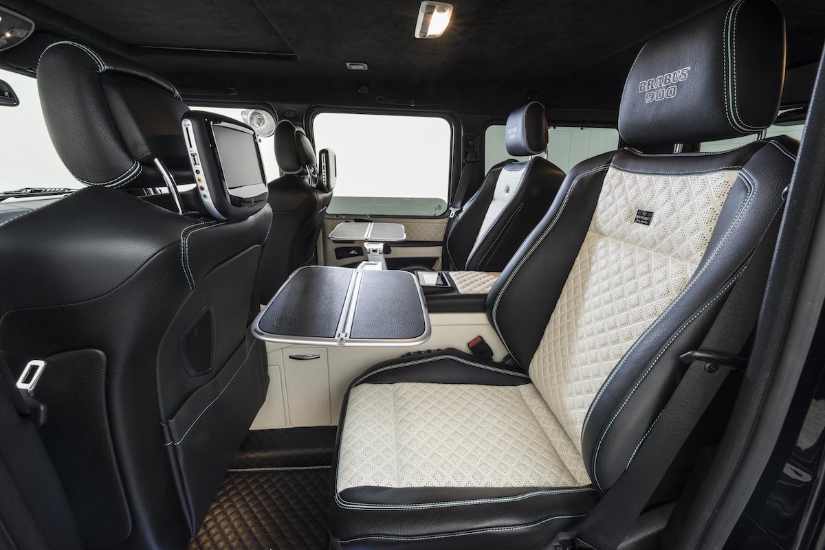 brabus 900 one of ten offroad allradantrieb allrad geländewagen mercedes mercedes-benz tuning interieur innenraum
