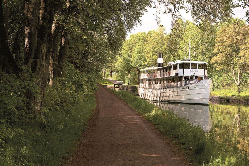 Die historischen Schiffe wie hier die