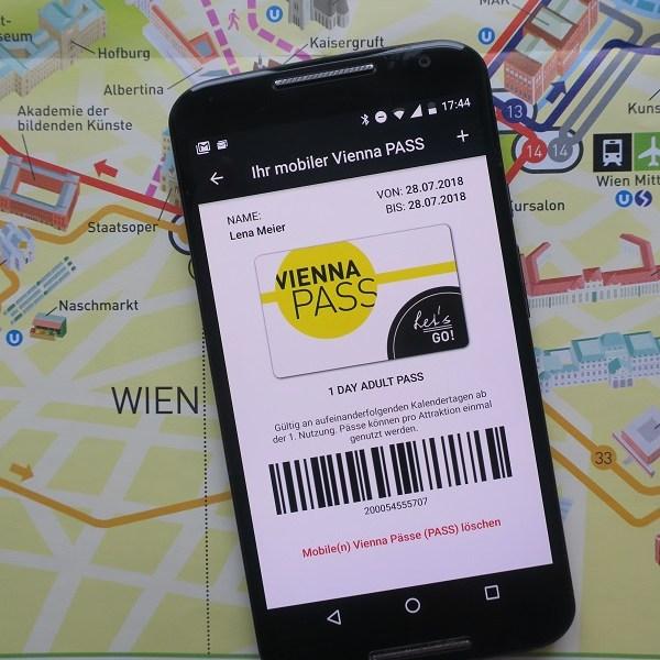 Vienna Pass, Smartphone, App, Vienna Sightseeing Tours
