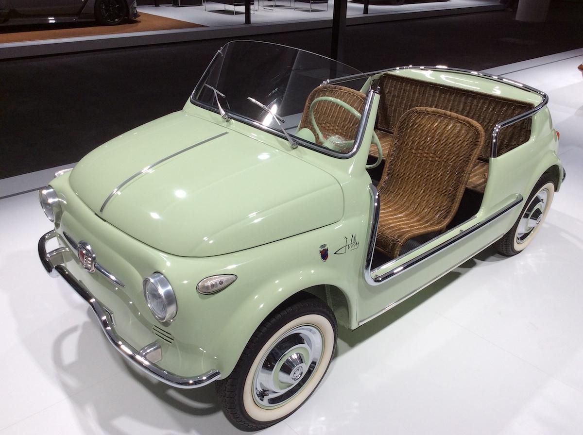 1958 Fiat 500 Spiaggia Boano