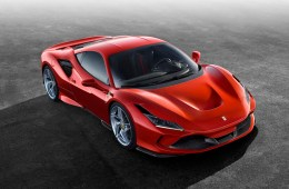ferrari f8 tributo new model unique turbo turbo-charged models front view